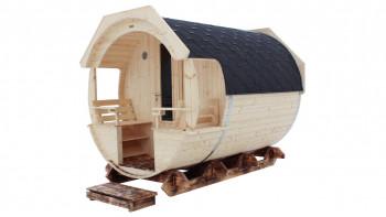 baril de sauna planeo Premium Finja 2