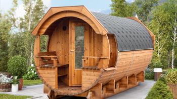 baril de sauna planeo Premium Svenja 2 kit thermowood