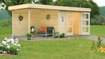 planeo summer house - Maison système Calais avec extension et paroi arrière