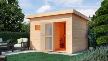 planeo sauna house Basic Melina 40 finition naturelle