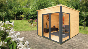 planeo garden shed - system house Studio 44-B