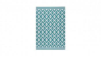 tapis planeo - Now ! 300 blanc / turquoise