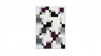 tapis planeo - Esperanto 225 ivoire / violet