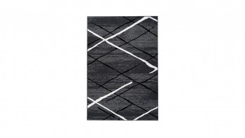 tapis planeo - Vancouver 110 anthracite / noir / blanc