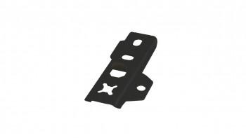 set de clips de terrasse planeo acier inoxydable DILA2 noir