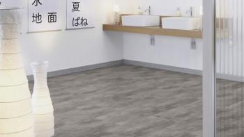 Vinyle adhésif pour revêtement de sol - Glamour Concrete Modern