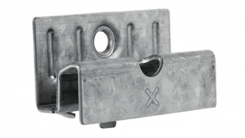 planeo Dekora Clip 100 pcs. incl. vis en acier inoxydable
