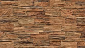 planeo WoodWall - Bois de cristal brun naturel