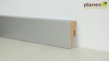 planeo Alu-Design plinthe 18 x 50mm Alu moderne