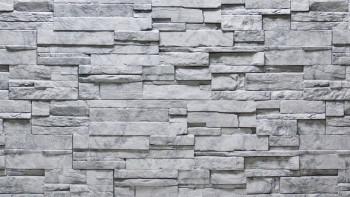 panneau de façade planeo aspect pierre - NoviStone Grigio 1054 x 334 mm