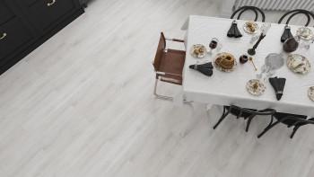 planeo Objekt - Lumière en vinyle collant de chêne blanc