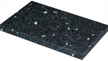 planeo terrace pad granulés de caoutchouc 8x40x80mm - 40 pcs.