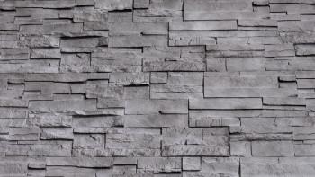 panneau de façade planeo aspect pierre - NoviStone Anthracite 1054 x 334 mm