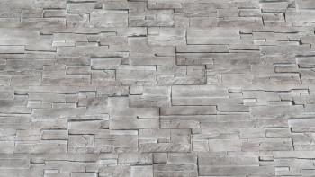 panneau de façade planeo aspect pierre - NoviStone Basalt 1054 x 334 mm