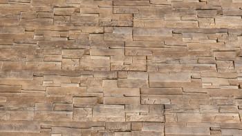panneau de façade planeo aspect pierre - NoviStone Brownstone 1054 x 334 mm