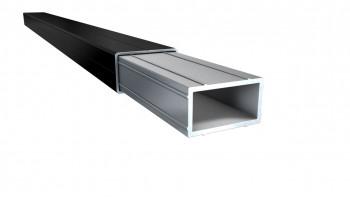 planeo 40cm connecteur pour sous-structure en aluminium 49mm x 29mm