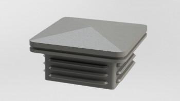 planeo Viento - casquette de poste gris argenté