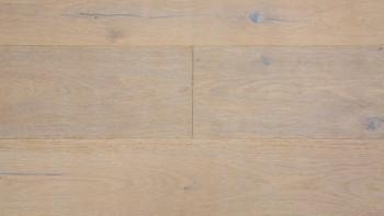 Parquet planeo - Chêne FUMÉ 147 rustique plus - Wideplan brossé, blanc huilé naturel
