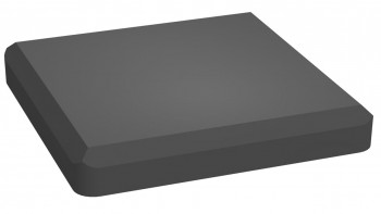 planeo Solid - Post cap anthracite