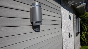 Revêtement de façade planeo - Profil de façade COEX 5,4m Gris moyen brossé