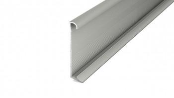 Plinthe en aluminium Prinz / plinthe pour revêtements design 270 cm