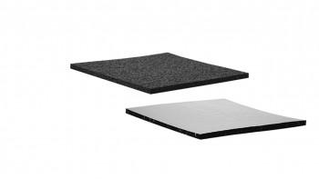 planeo terrace pad alu-laminated 8mm - pour les terrasses de toit