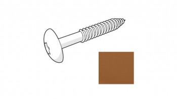 Trespa HPL Fassadenschraube - Romantic Walnut 4,8 x 38mm